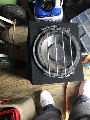 Boston subwoofer with correlation amplifier for Sale in Frostproof, FL
