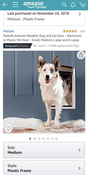 Dog door for Sale in Durham, NC