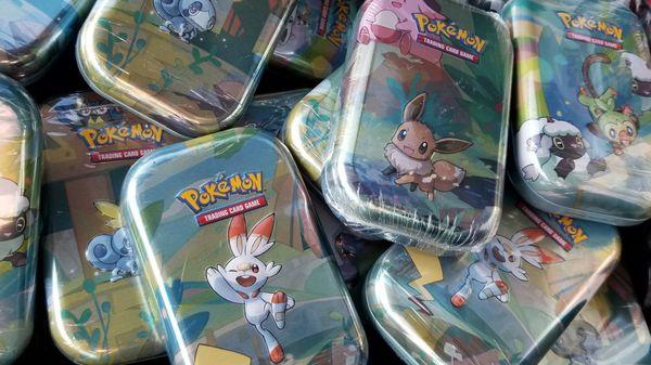 Pokemon Mini Tins
