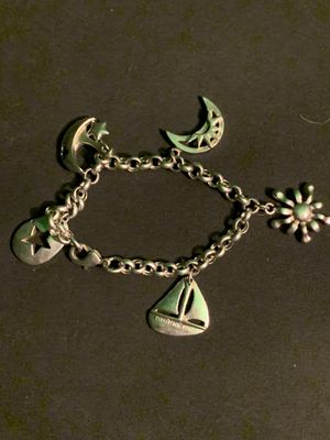 BEAUTIFUL Vintage 1960s-1970s Tiffany & Company Sterling Silver 5-Charm Bracelet, GREAT CONDITION!! for Sale in Phoenix, AZ