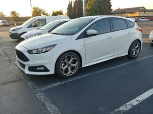 Trading stock Focus ST parts for performance aftermarket parts Super low mileage 2018 Ford Focus ST White 4000 Mi for Sale in Renton, WA
