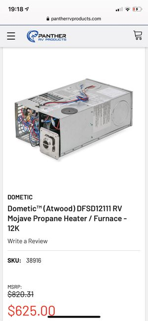 Dometic Atwood RV Van Camper Furnace Heater for Sale in San Dimas, CA