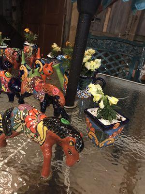 Mexican talaveras. Hand painted ceramic pots for Sale in Miami, FL