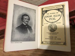 1904 Complete 10 Vol. Set of The Works of Edgar Allen Poe for Sale in Hialeah, FL