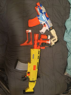 Nerf guns and add on's for Sale in North Fort Myers, FL