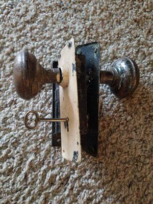 Vintage door handle and knobs for Sale in Everett, WA