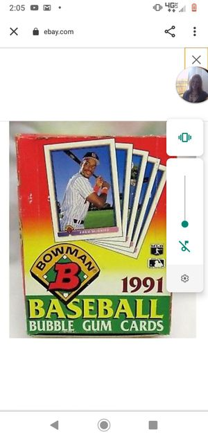 1991 Bowman baseball cards for Sale in Bothell, WA