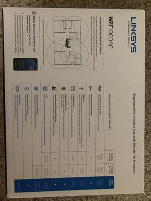 Linksys Wifi Router for Sale in Austin, TX