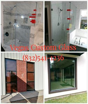 Shower door/windows/ mirrors for Sale in Houston, TX