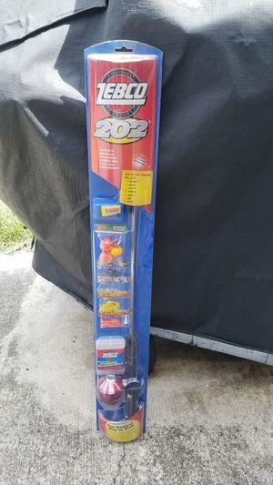 Zebco 202 Fishing Reel and Rod Kit New for Sale in Deltona, FL