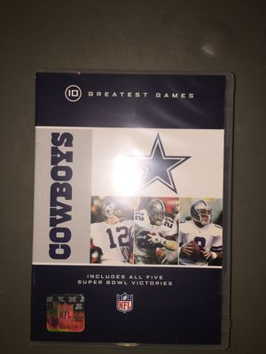 Cowboys 10 greatest games includes all 5 Super Bowl victories for Sale in Los Angeles, CA