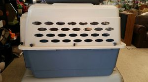 Traveling medium dog cage carrier kennel- I will scrub clean it for you PICK UP ONLY for Sale in Woodstock, GA