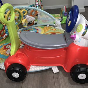 Fisher Price Laugh &learn Car 3 In 1 for Sale in Queen Creek, AZ