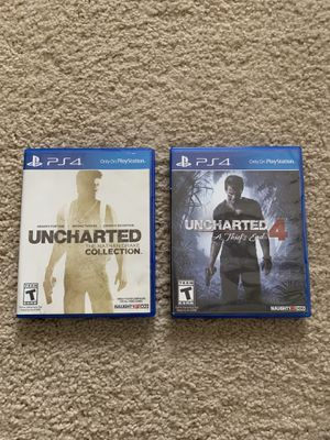 PS4 Games - Uncharted for Sale in Houston, TX