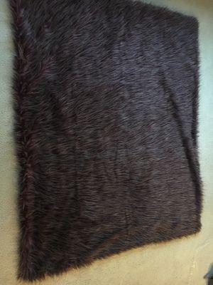 Purple fur and velvet blanket for Sale in Hillsboro, OR