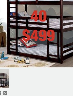 Furniture. Bunk bed. Trundles are $100 Mattresses are extra. Assembly required. Free delivery. for Sale in Tustin,  CA