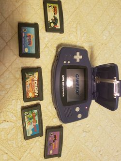 Gameboy Advance 001 With Light And Games for Sale in Mukilteo,  WA