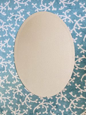Oval Mirror set of two 30 X 22 in. for Sale in Palmdale, CA