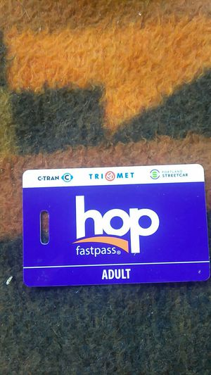 November adult monthly hop pass for Sale in Portland, OR