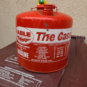 Eagle Metal Gas Can for Sale in Santa Ana, CA