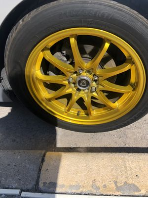 17 inch rims Trade for black rims for Sale in El Paso, TX