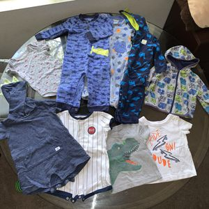 Baby Boy Clothes 6-12M Bundle for Sale in Corona, CA
