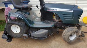 Craftsman 42in cut riding lawn mower for Sale in Cedar Hill, MO
