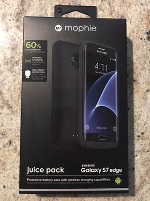 Mophie juice pack Samsung galaxy S7 edge Charging Case for Sale in San Ramon, CA
