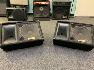 (2) Yamaha SM12IV Unpowered Monitors for Sale in Melrose, MA