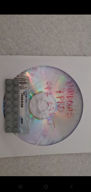 WINDOWS 7 PRO 64BIT INSTALL DISK with key for Sale in Manteca, CA