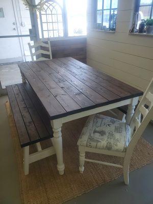 Handmade Farm Table for Sale in Haines City, FL