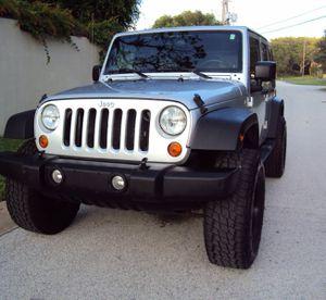 '² ⁰ ⁰ 7' Jeep Wrangler Unlimited''' .Great Shape 4x4WWWheelsss..! for Sale in Los Angeles, CA
