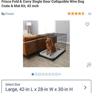 Large Dog Crate. New. for Sale in Woodlawn, MD