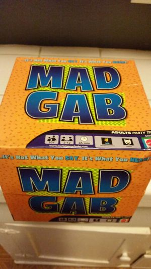 Mad Gab Game for Sale in Fresno, CA