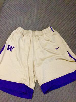 University of Washington Huskies Nike team basketball shorts for Sale in Edmonds, WA