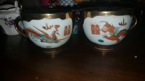 Set of 2 teacups made in china for Sale in Spring Hill, FL