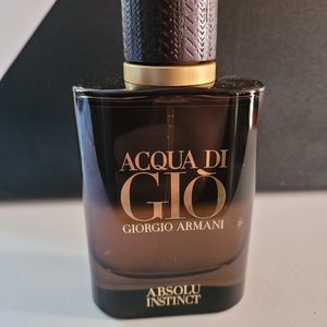 Armani Acqua Di Gio Absolu Instinct 2.5 Oz Perfume for Sale in San Bernardino, CA