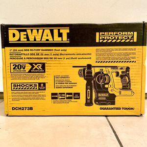 """Dewalt Rotary Hammer XR Brushless Sds 1"""" for Sale in Houston, TX"""