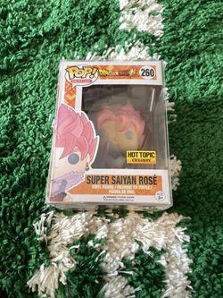 Funko POP Dragonball Z Super Saiyan Rose for Sale in Everett,  WA