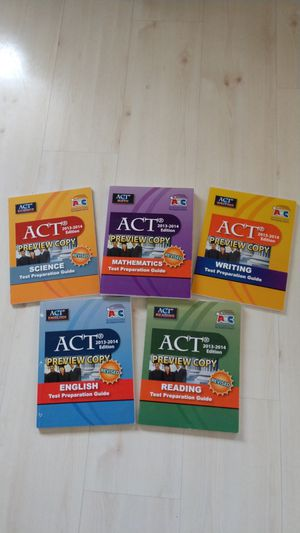 ACT College Preparation Books for Sale in Weirton, WV