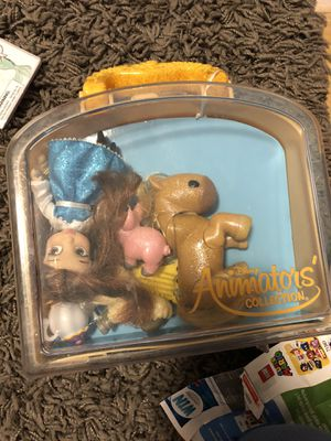 Disney Ariel and belle mini doll play sets for Sale in North Miami Beach, FL