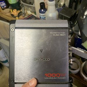Kenwood 1000w Amplifier for Sale in Gaithersburg, MD