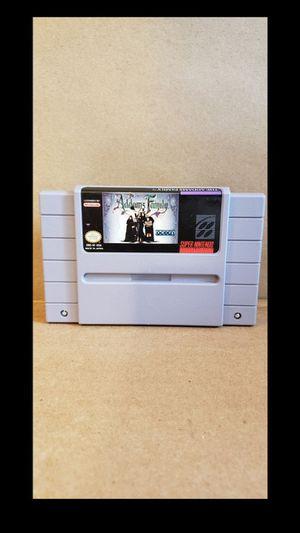 Super Nintendo 64 Addams Family Video Game for Sale in Bonita, CA