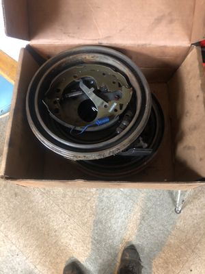 S10 rear drums,brake shoes, and hardware kit for Sale in Camden, NJ