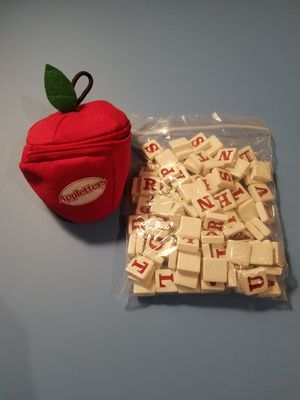 Appletters: Spelling and Word Tile Game for Sale in Charlotte, NC