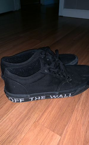 Vans- Off the Wall men's shoes (size 9) for Sale in Guntersville, AL