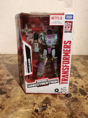 Transformers War for Cybertron Trilogy Netflix Original Series Decepticon Mirage for Sale in Florissant, MO
