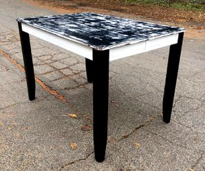 Post-apocalyptic modern counter height recycled kitchen table to help with suicide prevention for Sale in Vancouver,  WA
