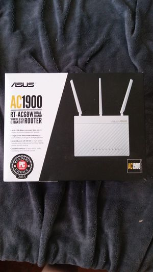 Asus AC1900 RT-AC68RW Dual band gigabit Router for Sale in Louisville, KY