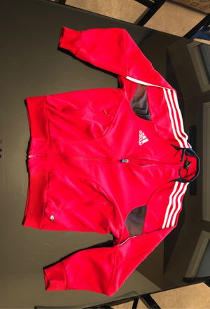 Adidas Sweatshirt -Red for Sale in Fresno, CA